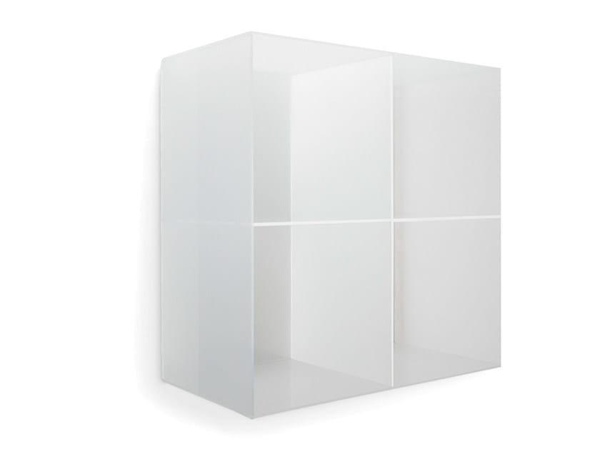 Wall-mounted one-sided salon display unit OPALE WALL 60 - Gamma & Bross