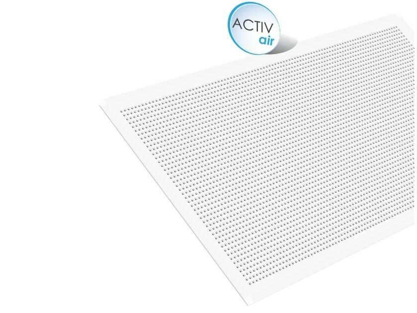 Gypsum ceiling tiles Gyptone Big Activ'Air® Quattro 44 - Saint-Gobain Gyproc