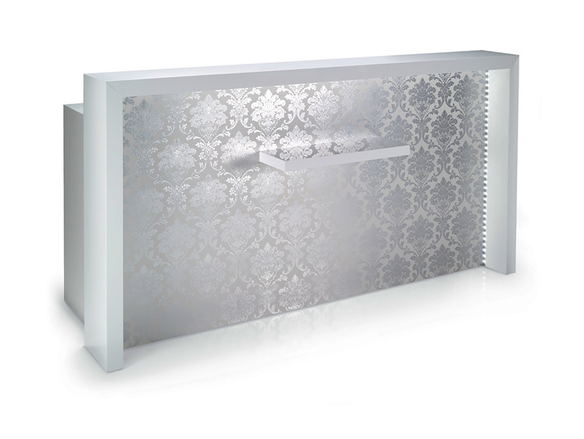 Reception desk with Built-In Lights COVENT LED - Gamma & Bross
