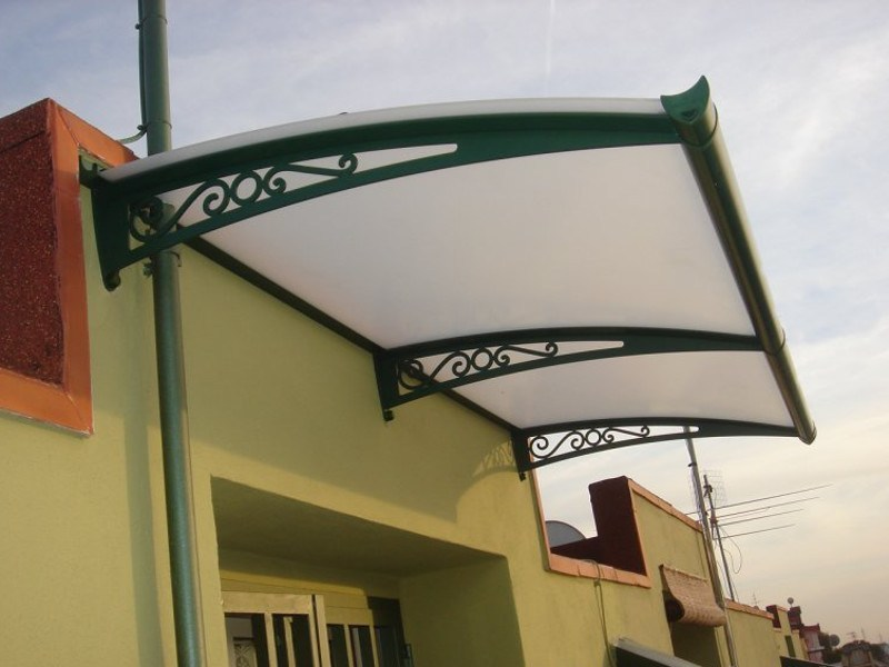Modular acrylic glass door canopy OLDSTYLE OS-01 by ROYAL PAT