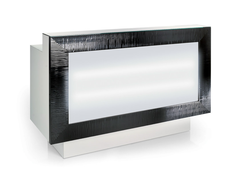 Reception desk with Built-In Lights XP DESK - Gamma & Bross