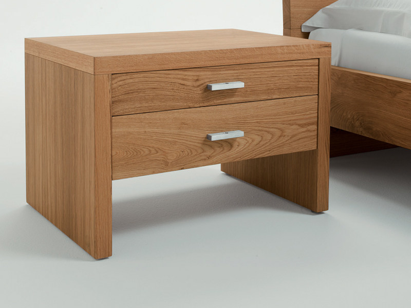 Wooden bedside table NATURA 3 | Bedside table - Riva 1920