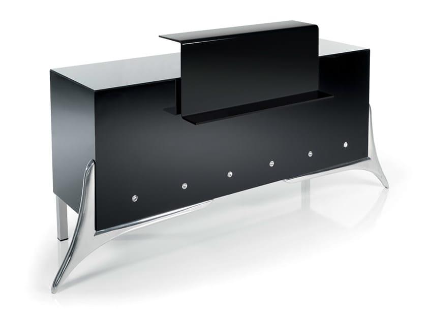 Reception desk PLATOIR SWAROVSKI by Gamma & Bross