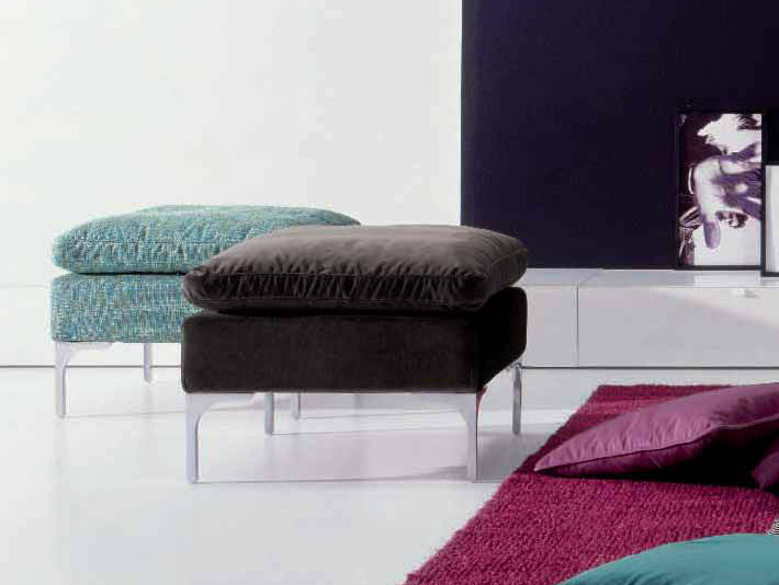 Fabric pouf ALBERT - Twils
