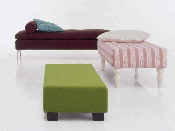 Upholstered bench MAURICE by Twils