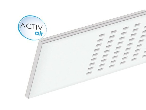 Gypsum ceiling tiles Gyptone® Plank Activ'Air® Quattro 55 by Saint-Gobain Gyproc