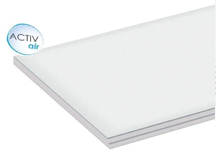 Gypsum ceiling tiles Gyptone® Plank Activ'Air® Base 33 - Saint-Gobain Gyproc