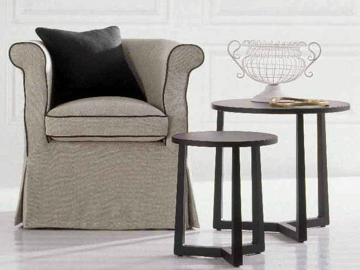 Armchair with armrests VELVET - Twils