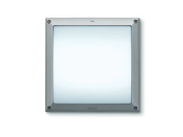 Wall-mounted Fluorescent foot- and walkover light FULL SQUARE - iGuzzini Illuminazione