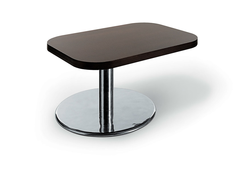 Low rectangular bistro side table MLC TABLE by Gamma & Bross