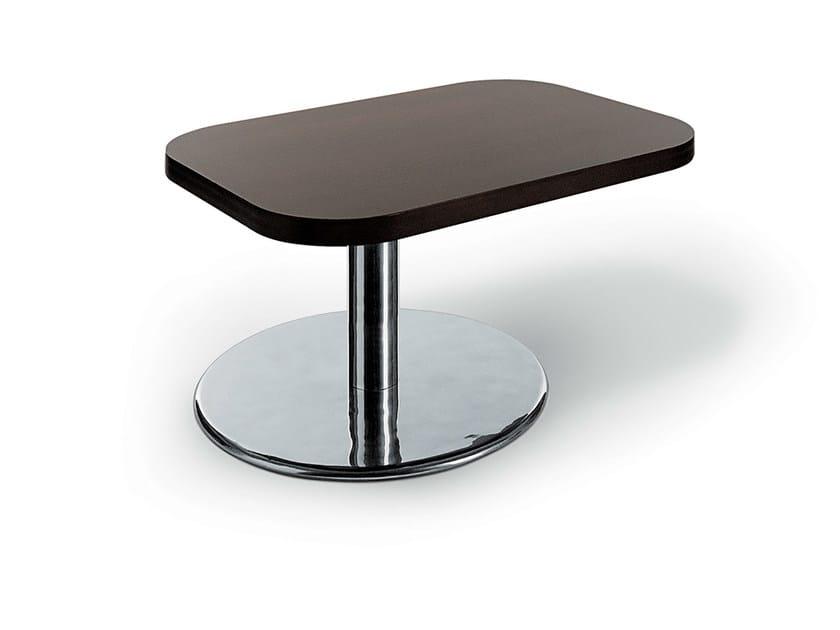 Low rectangular bistro side table MLC TABLE - Gamma & Bross