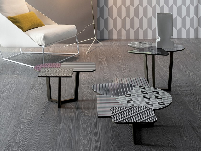 Low HPL coffee table DOPPLER   Coffee table - Bonaldo