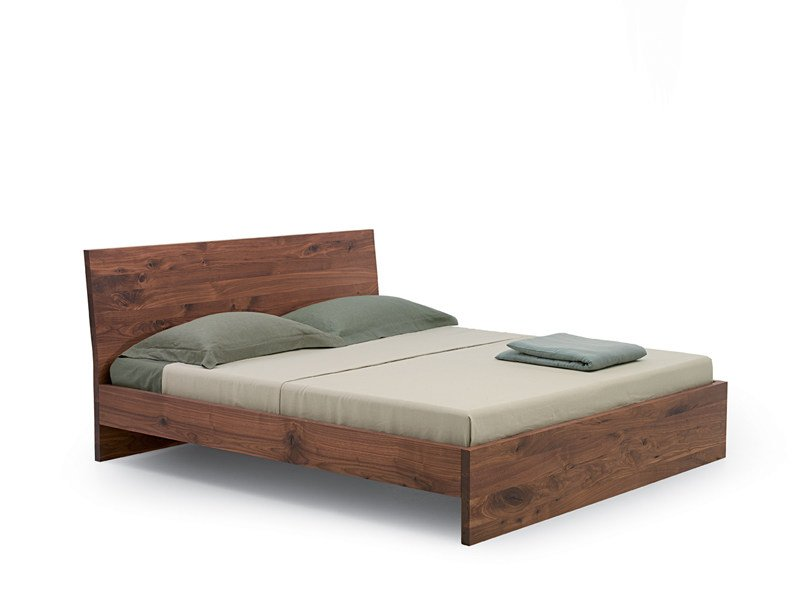 Wooden double bed NATURA 2 | Double bed - Riva 1920