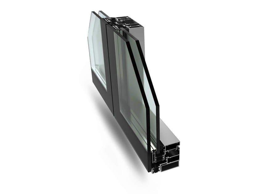Continuous facade system SIRIO 50N - ALsistem