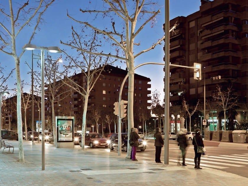 Aluminium street lamp LAVINIA SYSTEM - iGuzzini Illuminazione