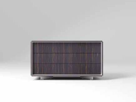 Low wooden office storage unit CEO | Low office storage unit - MASCAGNI