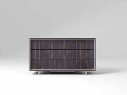 Low wooden office storage unit CEO | Low office storage unit by MASCAGNI