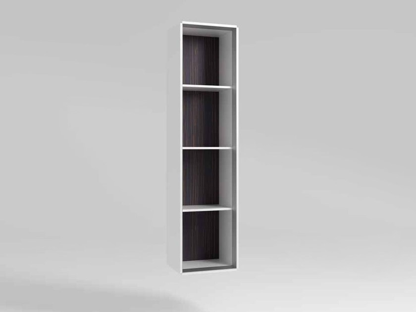 Open wooden office shelving CEO | Open office shelving by MASCAGNI