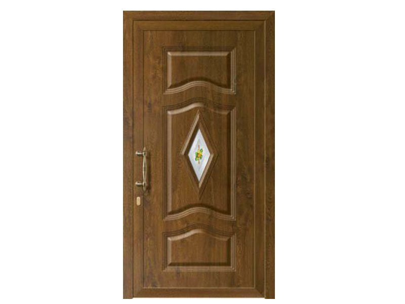 Aluminium armoured door panel BASILEO/K1 by ROYAL PAT
