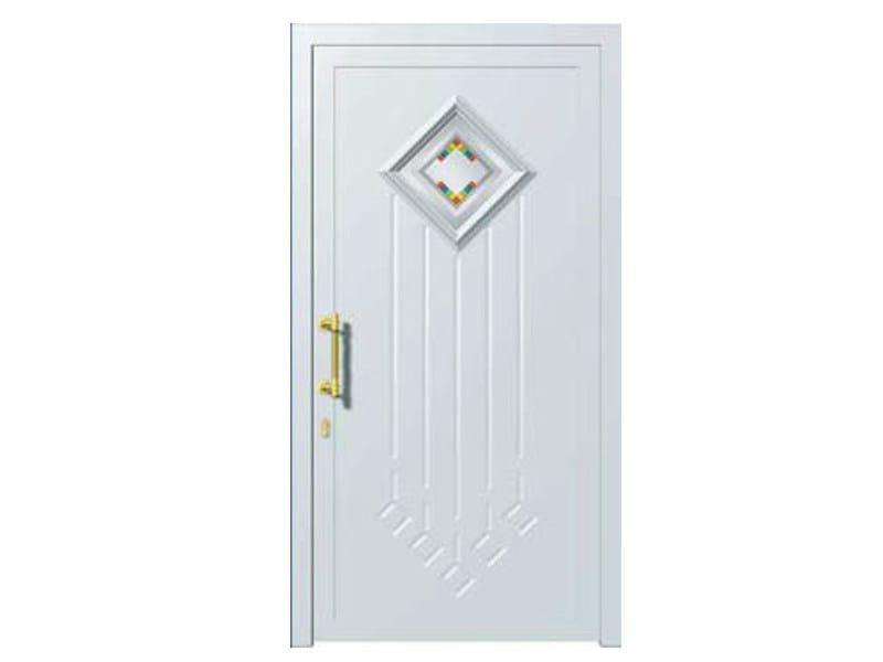 Glass and aluminium armoured door panel DORADO/K1 - ROYAL PAT
