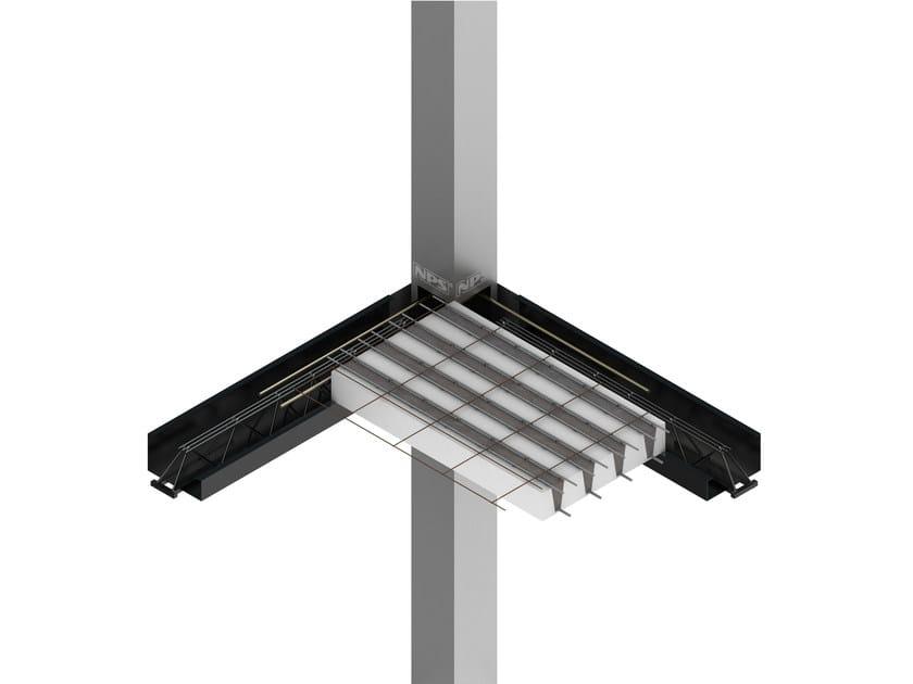 Mixed steel-concrete beam and column NPS® AIR by Tecnostrutture