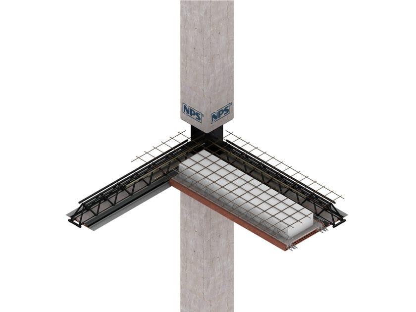 Mixed steel-concrete beam and column NPS® BRICK - Tecnostrutture