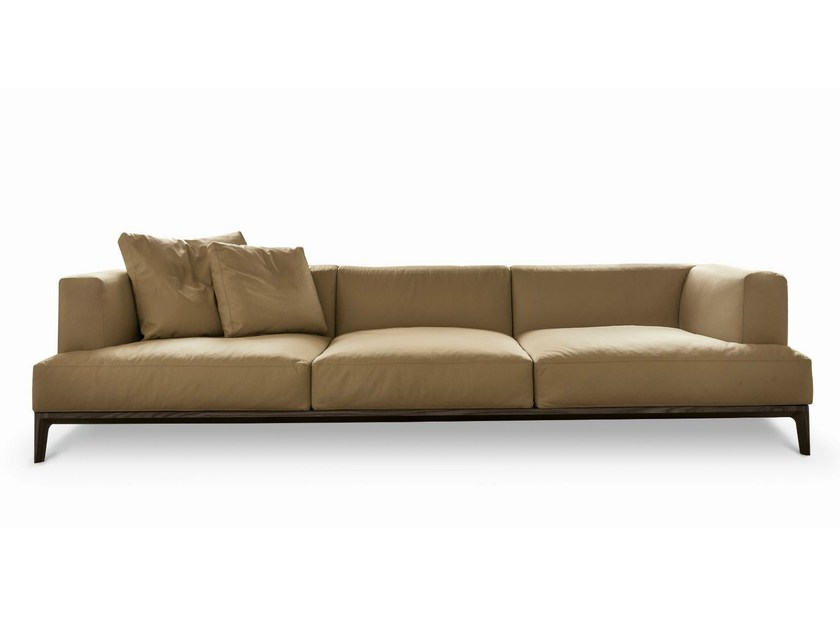 Sectional leather sofa SWING - ALIVAR