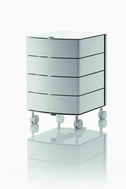 Office drawer unit with casters with lock OP | Office drawer unit by MASCAGNI