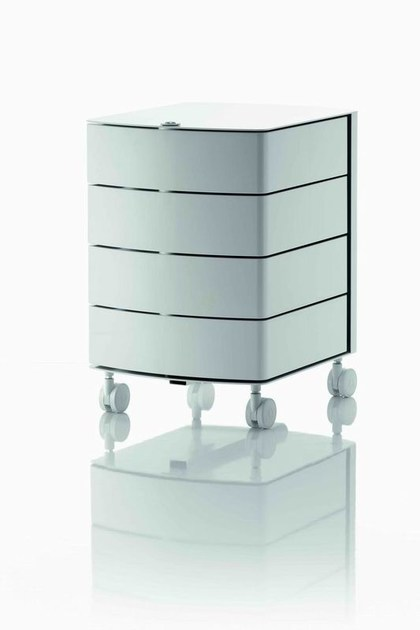 Office drawer unit with casters with lock OP | Office drawer unit - MASCAGNI