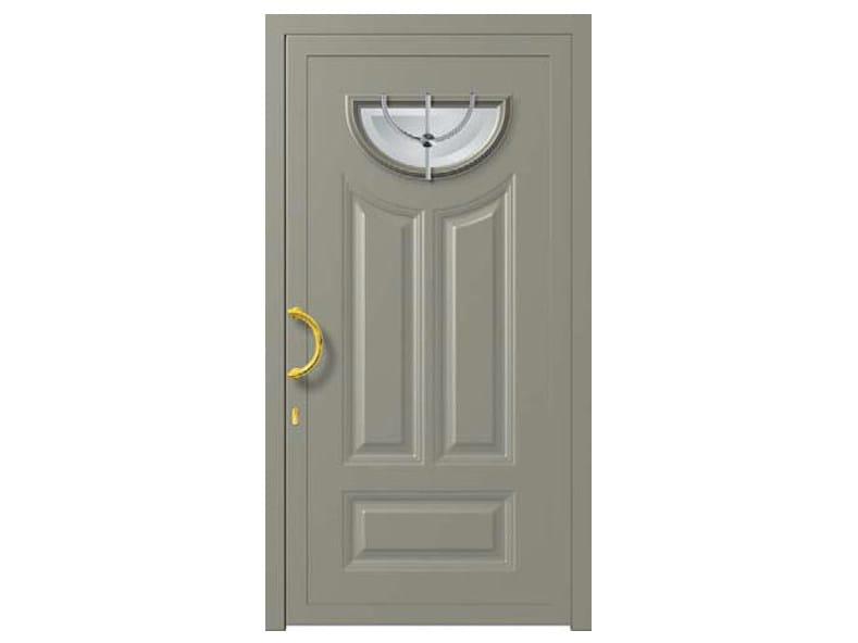 Glass and aluminium door panel MINERVA/K1 - ROYAL PAT