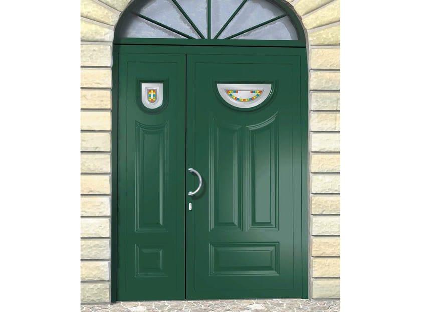 Glass and aluminium door panel MINERVA/KS1+MINERVA/K1 - ROYAL PAT