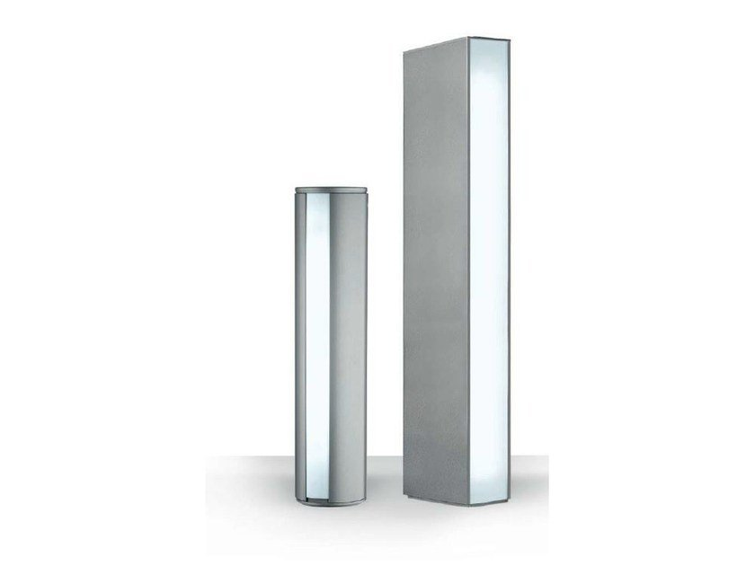 LED Garden bollard light PENCIL by iGuzzini Illuminazione design Jean-Michel Wilmotte