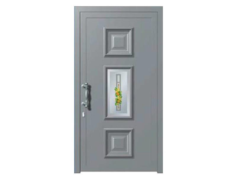 Glass and aluminium armoured door panel MIRANDA/K1 - ROYAL PAT