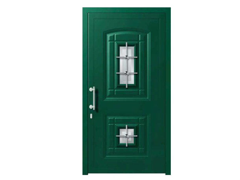 Glass and aluminium armoured door panel POLARIS/K2 - ROYAL PAT