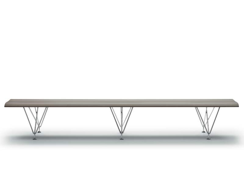 Aluminium bench seating AIRPORT | Bench seating - MASCAGNI