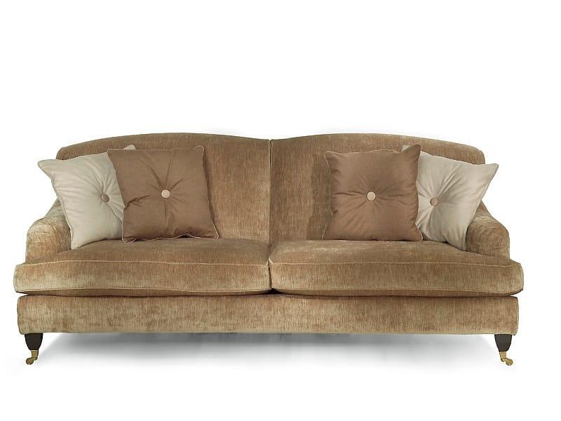 3 seater fabric sofa GLADIOLUS | 3 seater sofa - MARIONI