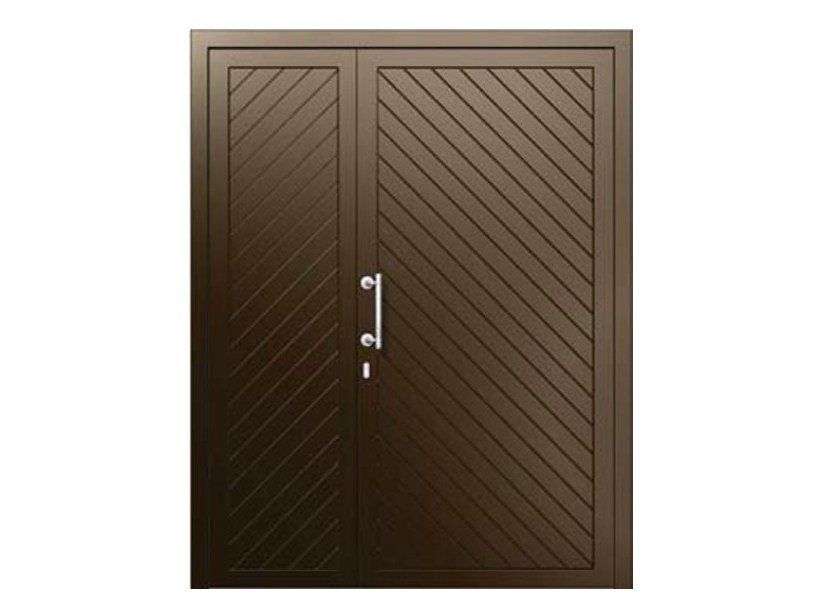 Aluminium armoured door panel SPIGA/KMS+SPIGA/KM - ROYAL PAT