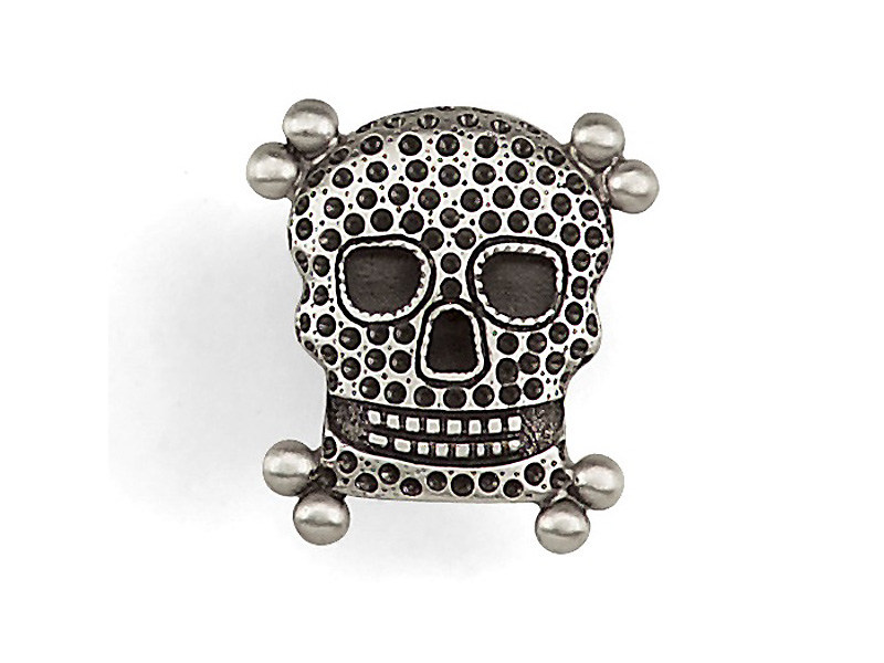 Metal Furniture knob SKULL | Furniture knob - MARIONI