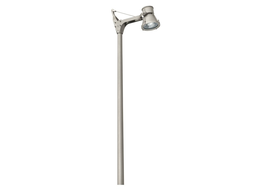 LED aluminium garden lamp post CITYWOODY by iGuzzini