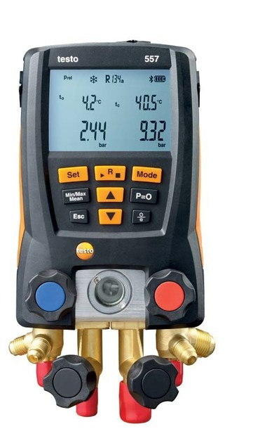 Measurement, control, thermographic and infrared instruments TESTO 557 - TESTO