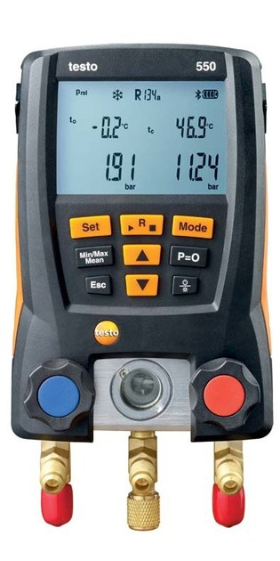 Measurement, control, thermographic and infrared instruments TESTO 550 by TESTO