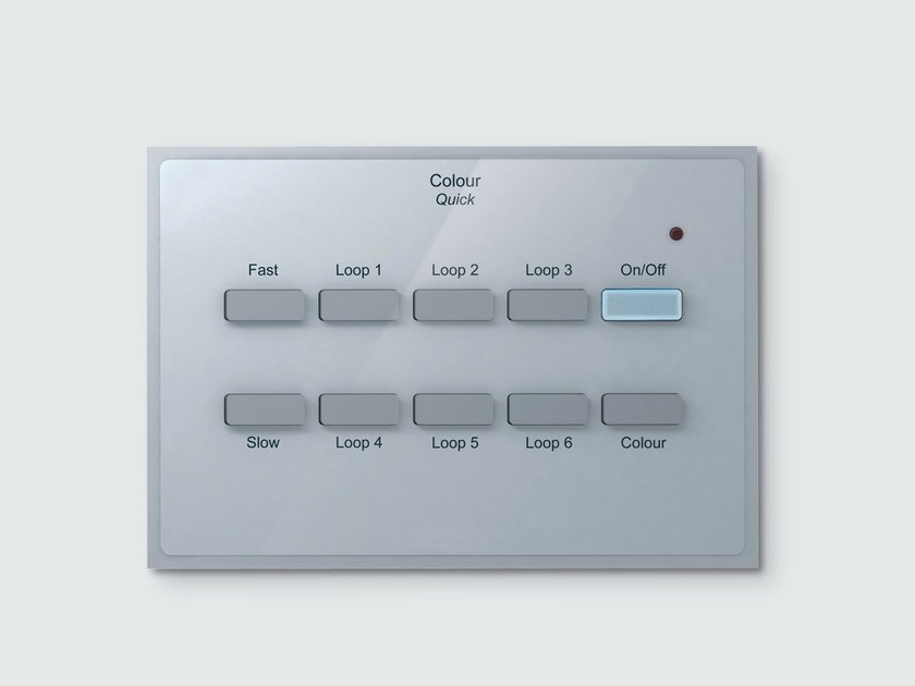 Building automation system interface COLOUR QUICK - iGuzzini Illuminazione