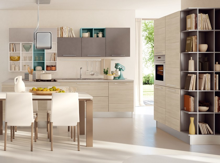 Cucina Componibile Laccata : Swing cucina componibile by cucine lube
