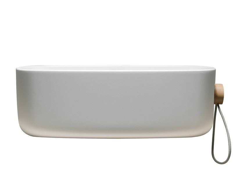 Single wall-mounted washbasin BOUNCE CORD - EVER by Thermomat Saniline