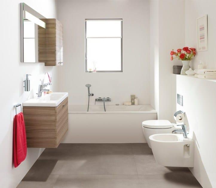 lavabo a semincasso ovale connect space - e1331 - ideal standard - Arredo Bagno Ideal Standard Prezzi