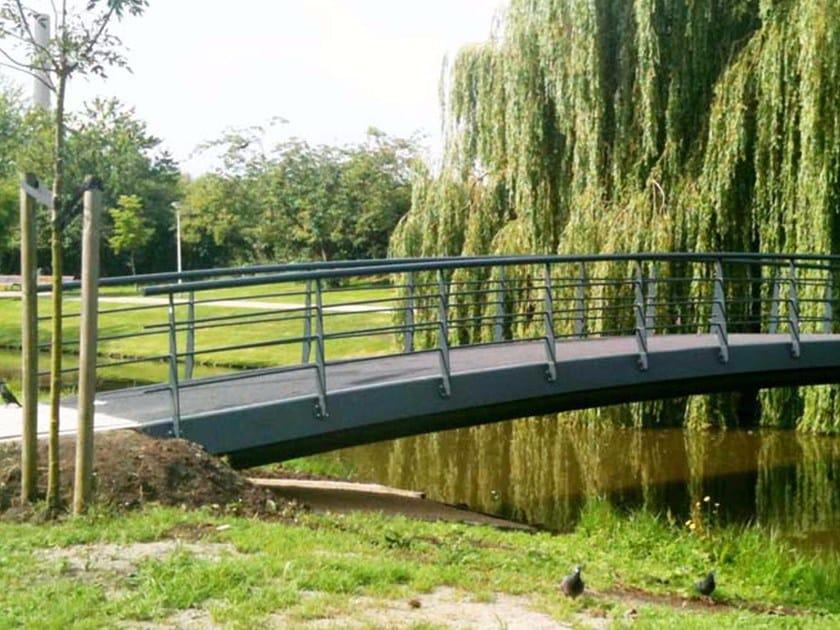 Bridge and modular pontoon FIBRE REINFORCED PLASTIC BRIDGES by Janson Bridging