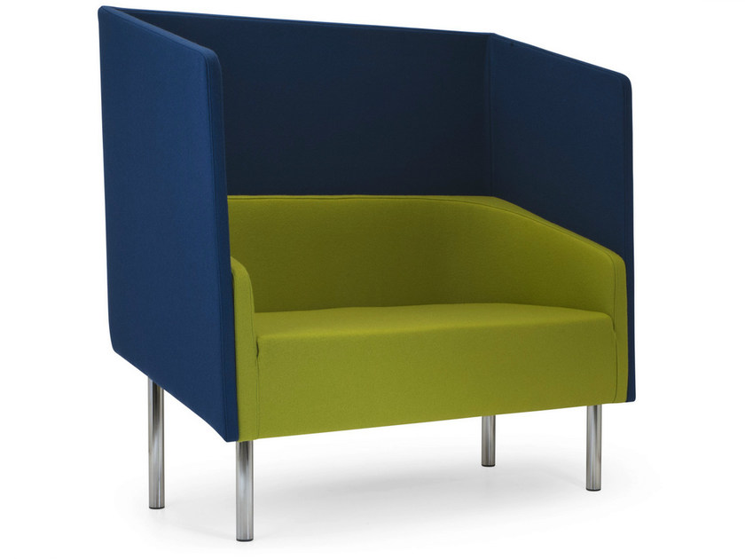 2 seater high-back leisure sofa COCODÌ HIGH | High-back sofa by Adrenalina