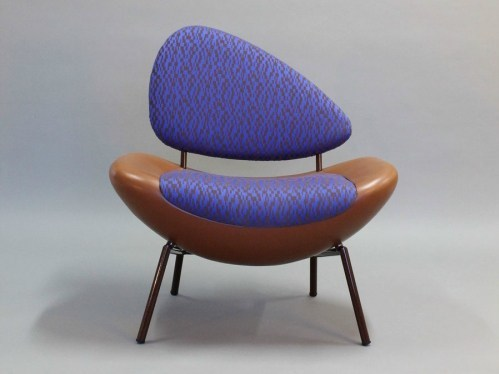 Upholstered easy chair BEAN by Binome