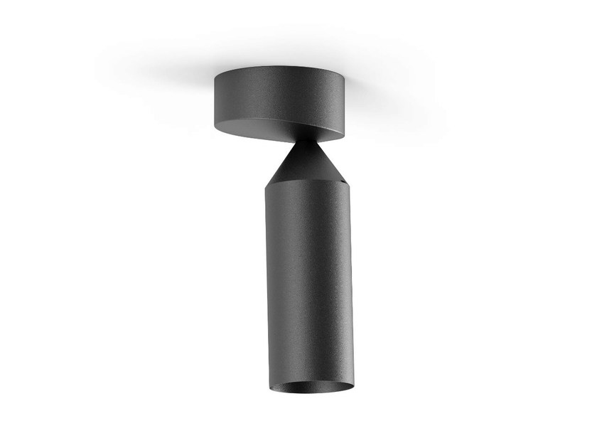 LED ceiling aluminium spotlight FLAMINGO | Ceiling spotlight - Platek