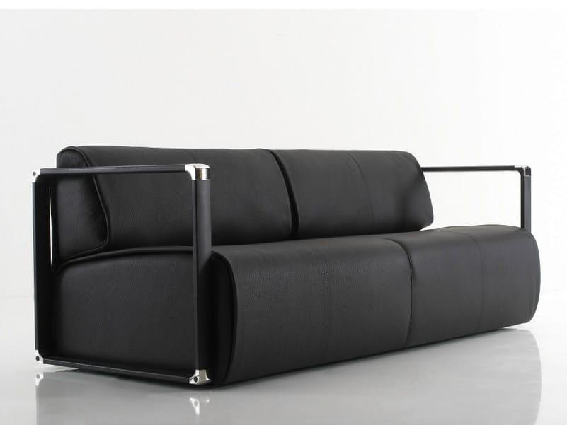 Leather sofa WRAP | Leather sofa - YOMEI